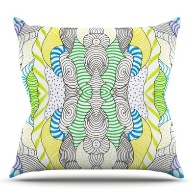 Wormland by Monika Strigel Outdoor Throw Pillow