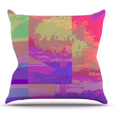 Impermiate Poster by Nina May Outdoor Throw Pillow