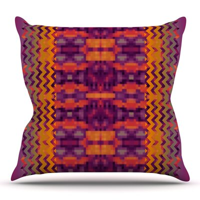 Medeasetta by Nina May Outdoor Throw Pillow