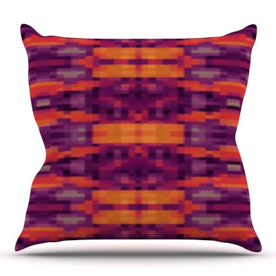 Medeaquilt by Nina May Outdoor Throw Pillow