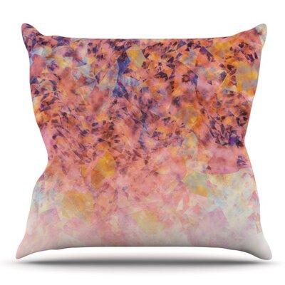 Blushed Geometric by Nikki Strange Outdoor Throw Pillow