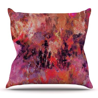 Indian City by Nikki Strange Outdoor Throw Pillow