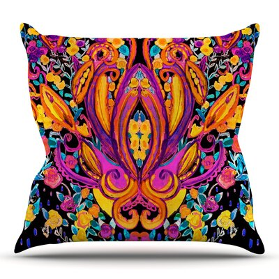Paisley Garden by Nikki Strange Outdoor Throw Pillow