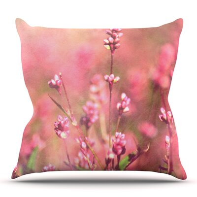 Its a Sweet Sweet Life by Robin Dickinson Outdoor Throw Pillow