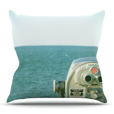 Ocean View by Robin Dickinson Outdoor Throw Pillow