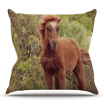 Confuscous by Robin Dickinson Outdoor Throw Pillow