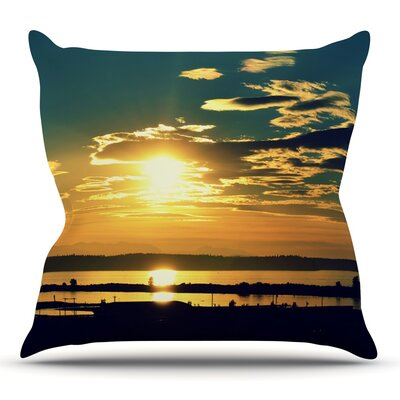 Conquer Your Wold by Robin Dickinson Outdoor Throw Pillow