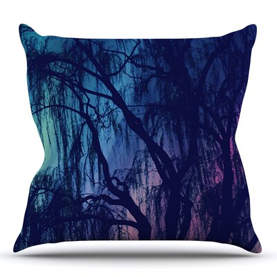 Weeping by Robin Dickinson Outdoor Throw Pillow
