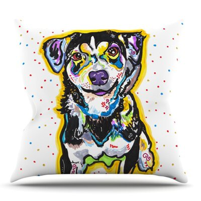 Jasper by Rebecca Fischer Outdoor Throw Pillow