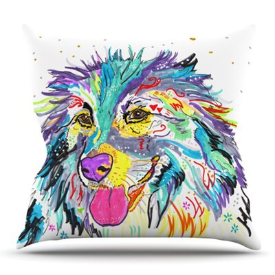 Dally by Rebecca Fischer Outdoor Throw Pillow