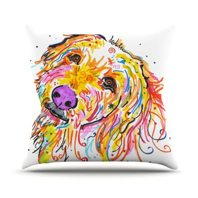 Koda by Rebecca Fischer Outdoor Throw Pillow