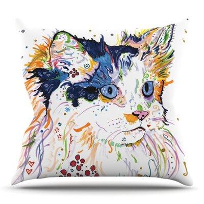 Sophia by Rebecca Fischer Outdoor Throw Pillow