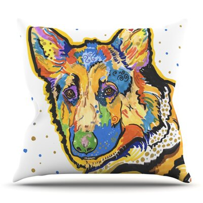 Floyd by Rebecca Fischer Outdoor Throw Pillow