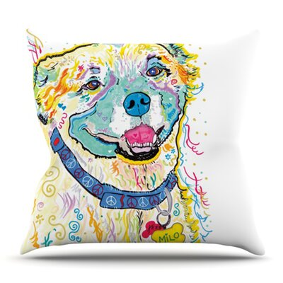 Milo by Rebecca Fischer Outdoor Throw Pillow