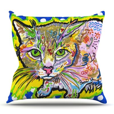 Abraham by Rebecca Fischer Outdoor Throw Pillow