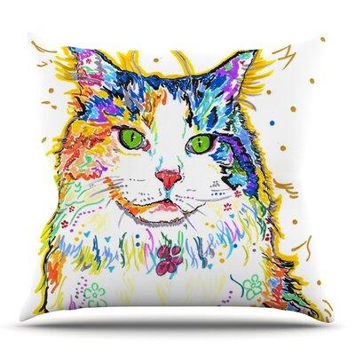 Royal by Rebecca Fischer Outdoor Throw Pillow
