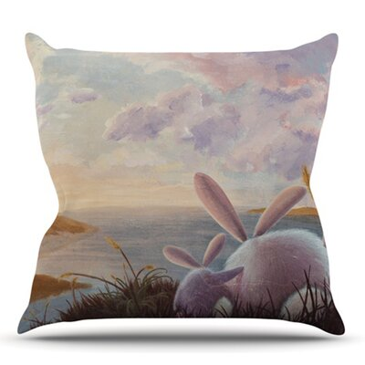 A New Perspective by Rachel Kokko Outdoor Throw Pillow