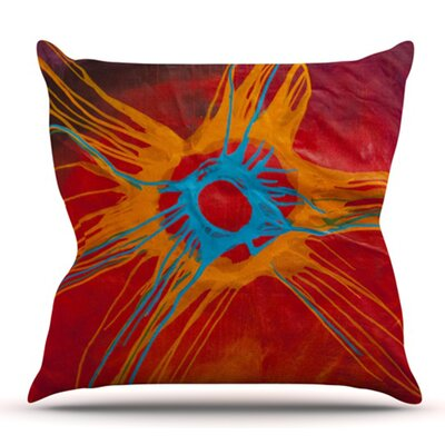 Eclipse by Steve Dix Outdoor Throw Pillow