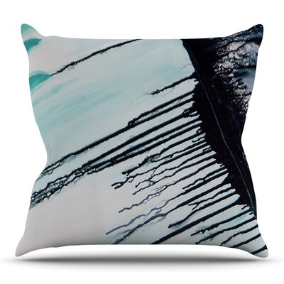 Extractions by Steve Dix Outdoor Throw Pillow