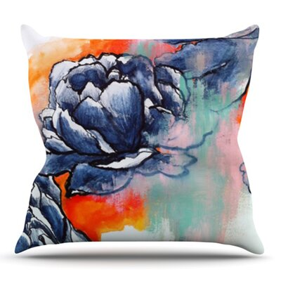 Bloom by Sonal Nathwani Outdoor Throw Pillow