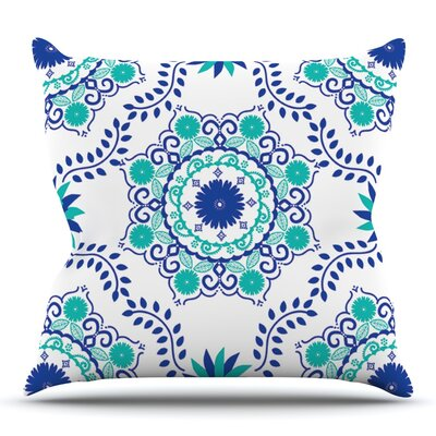 Lets Dance by Anneline Sophia Outdoor Throw Pillow Color: Fuchsia