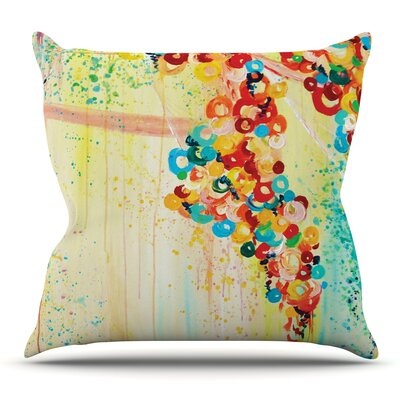 Summer in Bloom by Ebi Emporium Outdoor Throw Pillow