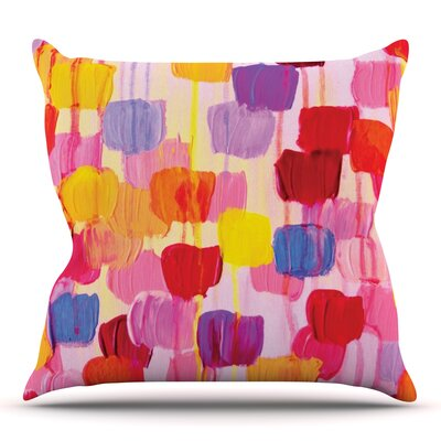 Dotty by Ebi Emporium Outdoor Throw Pillow