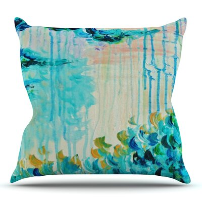 Poseidons Wrath by Ebi Emporium Outdoor Throw Pillow