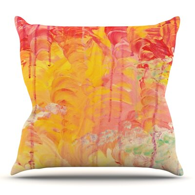 Sun Showers by Ebi Emporium Outdoor Throw Pillow