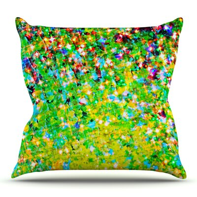 Holiday Cheer by Ebi Emporium Outdoor Throw Pillow