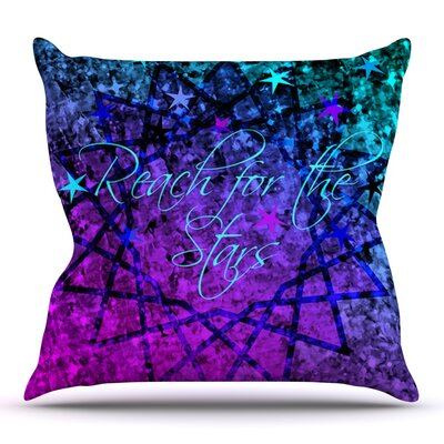 Reach For The Stars by Ebi Emporium Outdoor Throw Pillow
