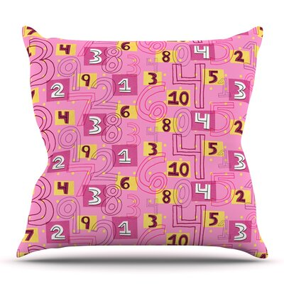 Vintage Playground II by Jane Smith Outdoor Throw Pillow