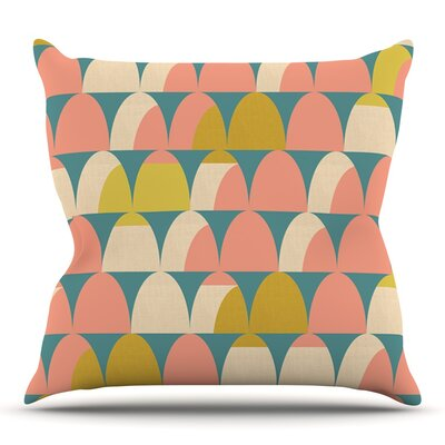 Scallops by Michelle Drew Outdoor Throw Pillow