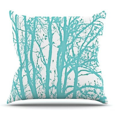 Trees by Monika Strigel Outdoor Throw Pillow