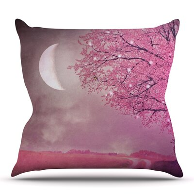Song of the Springbird by Monika Strigel Outdoor Throw Pillow