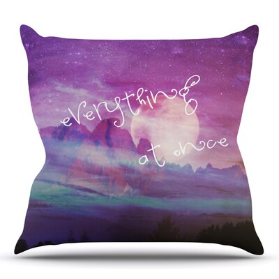 Everything at Once by Monika Strigel Outdoor Throw Pillow