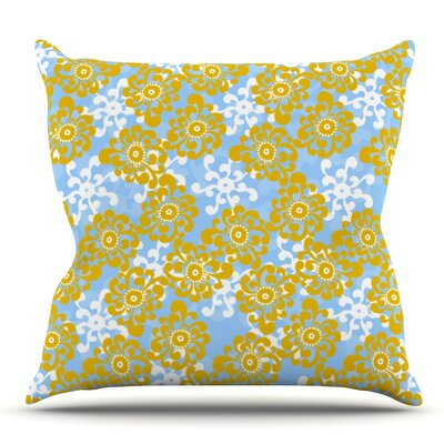 Flower by Nandita Singh Outdoor Throw Pillow