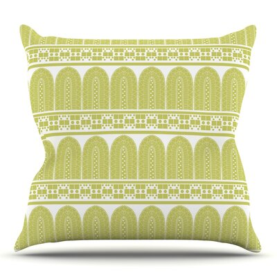 Tribal by Nandita Singh Outdoor Throw Pillow