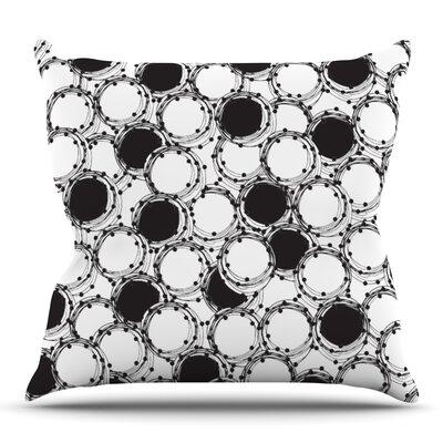 Beaded Bangles by Nandita Singh Outdoor Throw Pillow