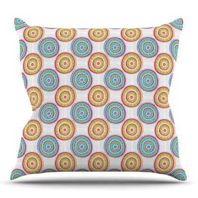 Bombay Dreams by Apple Kaur Designs Outdoor Throw Pillow