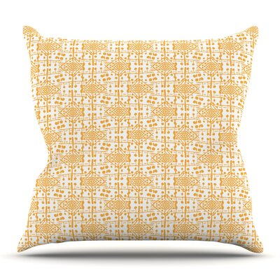 Diamond by Apple Kaur Designs Outdoor Throw Pillow