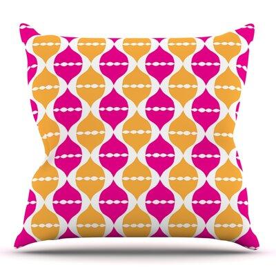 Moroccan Dreams by Apple Kaur Designs Outdoor Throw Pillow