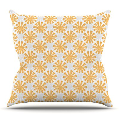 Sunburst by Apple Kaur Designs Outdoor Throw Pillow