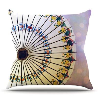 Parasol by Sylvia Cook Outdoor Throw Pillow