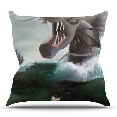 Vessel by Sophy Tuttle Outdoor Throw Pillow
