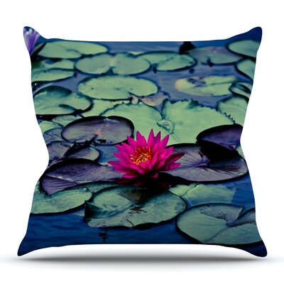 Twilight by Ann Barnes Outdoor Throw Pillow