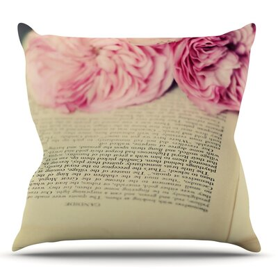 A Good Read by Cristina Mitchell Outdoor Throw Pillow