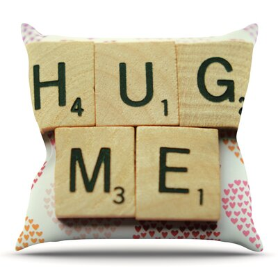 Hug Me by Cristina Mitchell Outdoor Throw Pillow