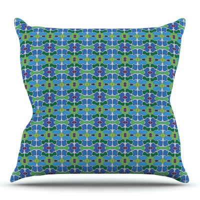 Sea Glass by Empire Ruhl Outdoor Throw Pillow