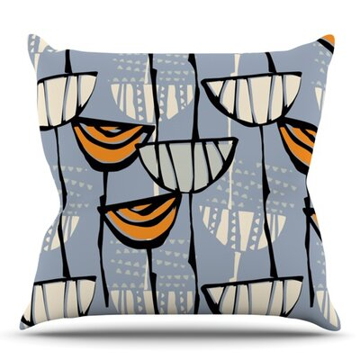 Eden by Gill Eggleston Outdoor Throw Pillow